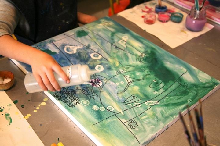 pinturas elaboradas con acuarela