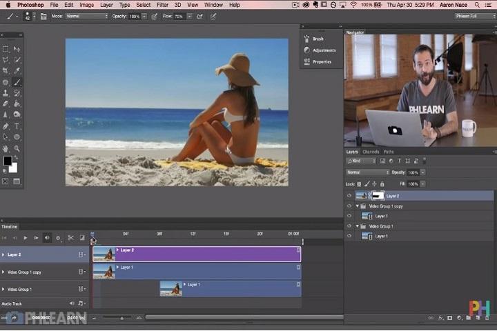 Cinemagraph: como hacer fotos en movimiento con Photoshop