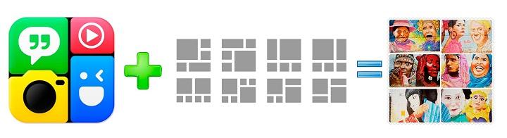 descargar y usar photo grid