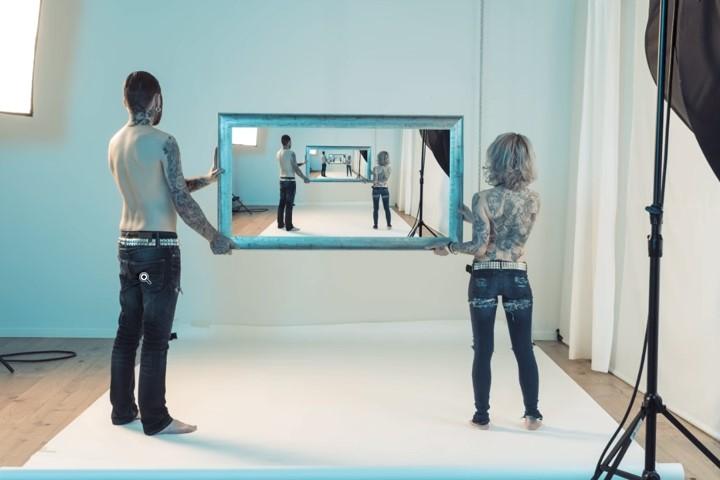 Cómo hacer el efecto droste o espejo infinito en Photoshop