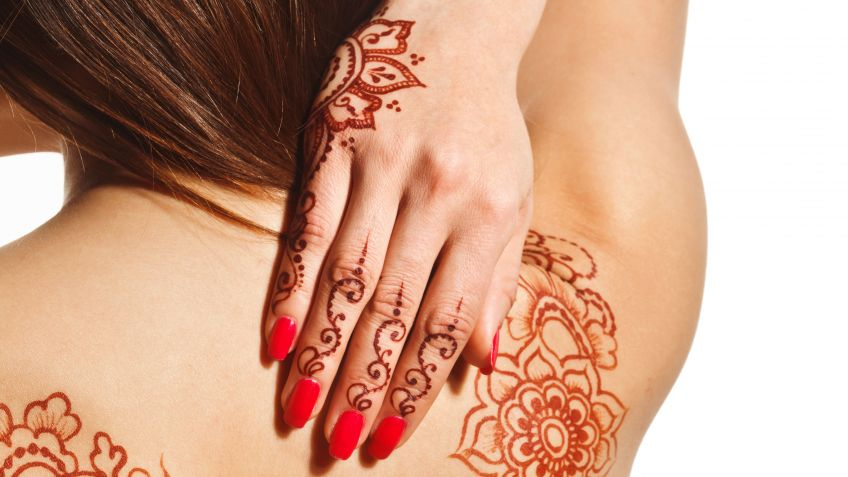 Que Son Los Tatuajes Temporales De Henna Y Como Prepararlos