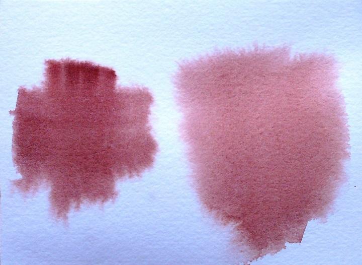 papel seco y humedo en dibujo con acuarelas