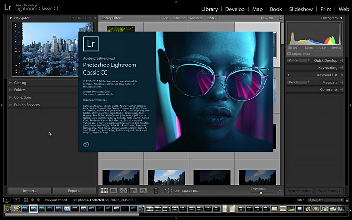 editar fotos en Lightroom