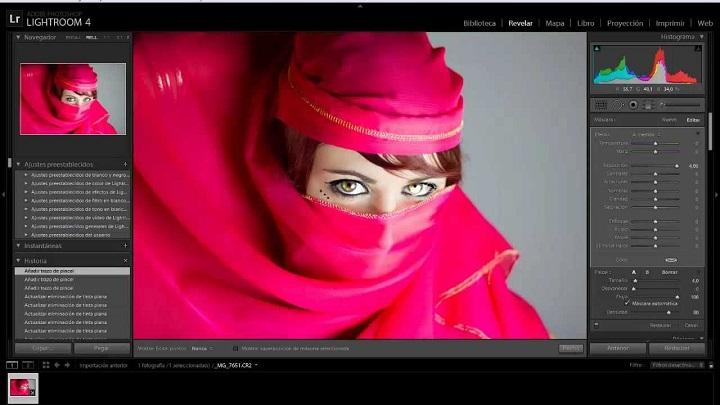 atajos útiles para editar fotos en Lightroom