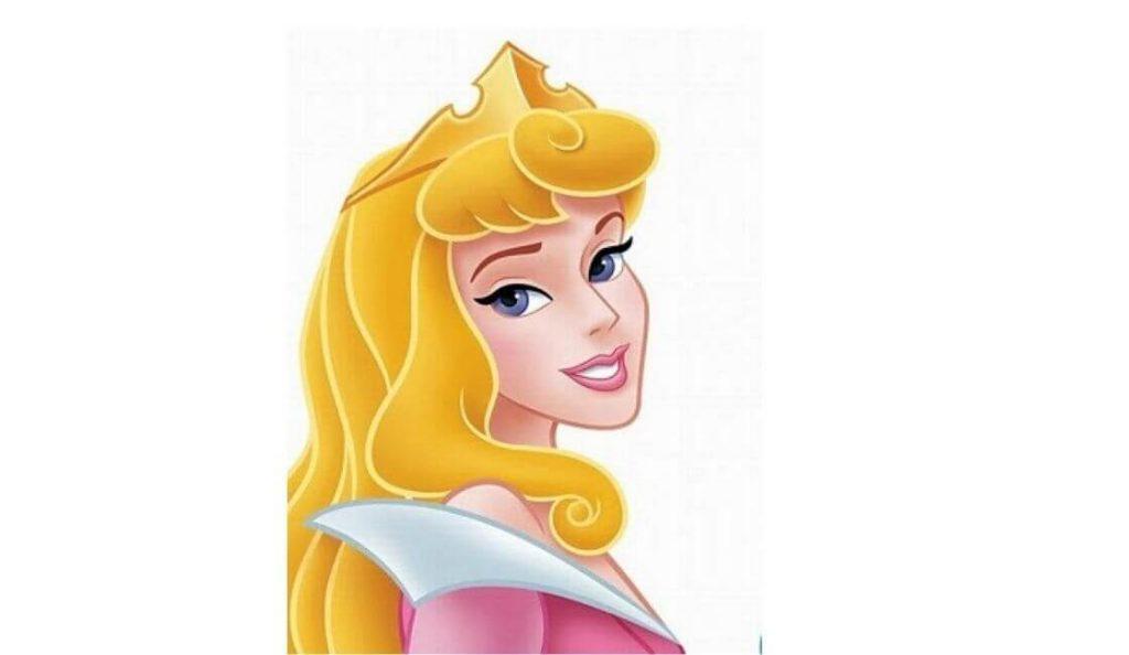 color de ojos de la princesa aurora