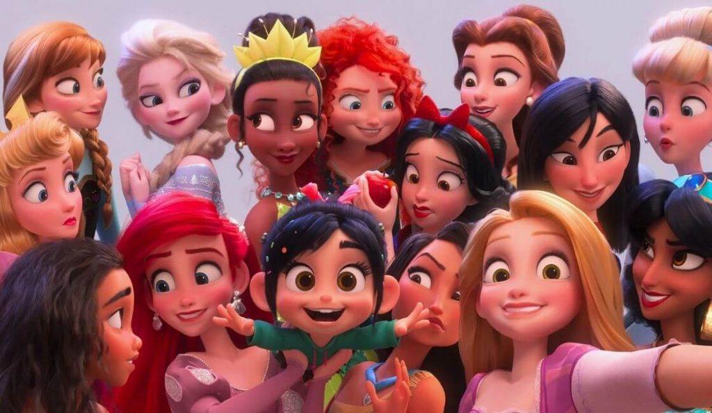 edad real de las princesas de disney