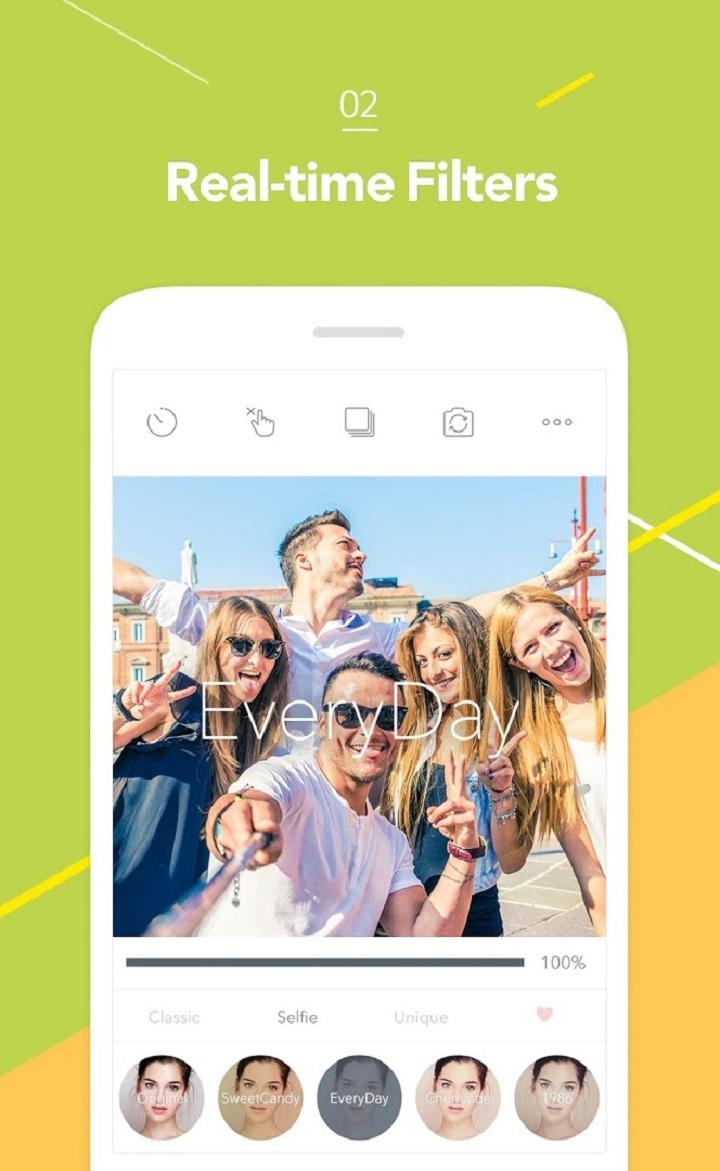 Candy Camera: La aplicación para editar fotos como un profesional
