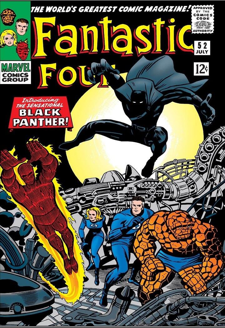 datos poco conocidos de Black Panther primer superheroe de color