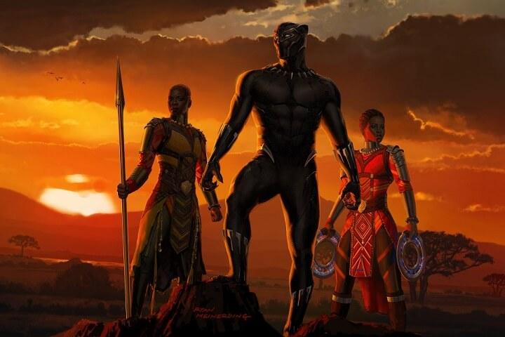 datos poco conocidos en película Black Panther