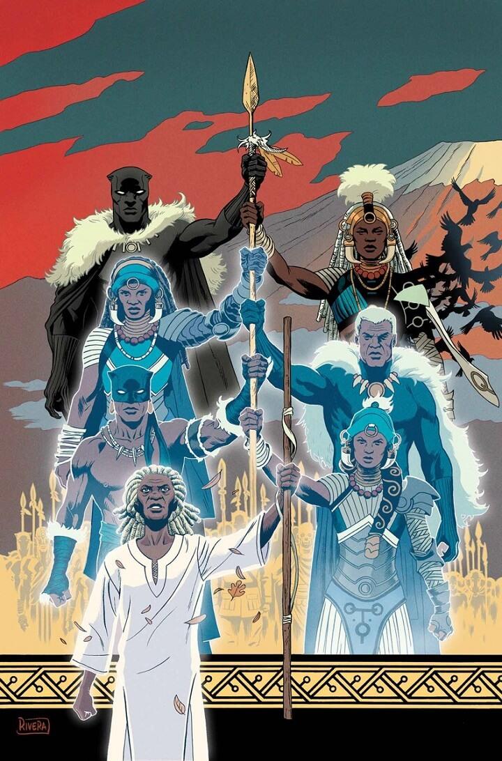 datos poco conocidos de Black Panther es el rey de los muertos