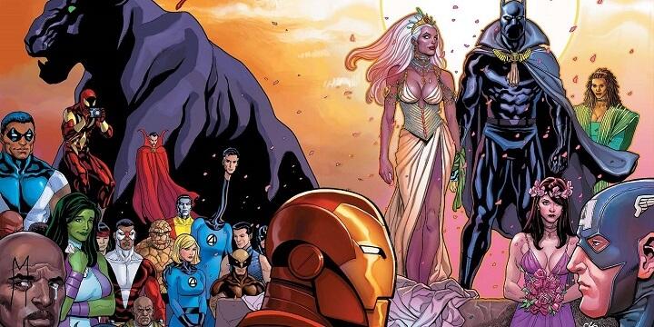 datos poco conocidos de Black Panther estuvo casado con storm