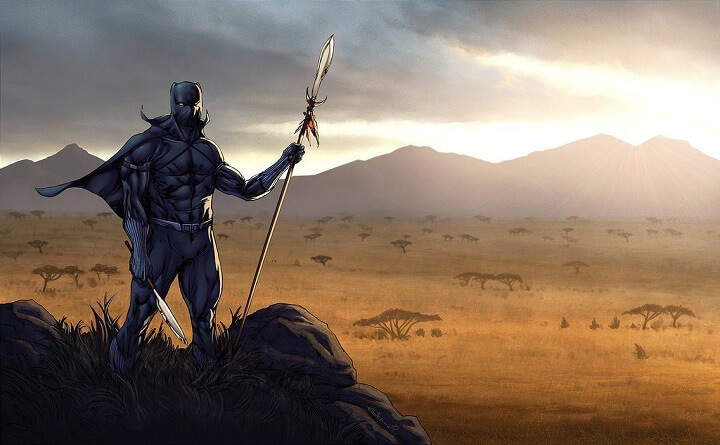 datos poco conocidos sobre nombre Black Panther