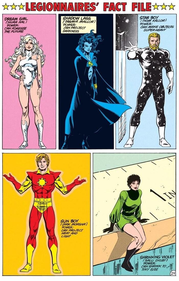 superheroes legionarios