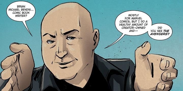 Brian Michael Bendis en dc comics