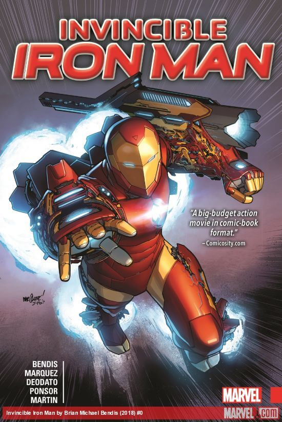 Brian Michael Bendis iron man