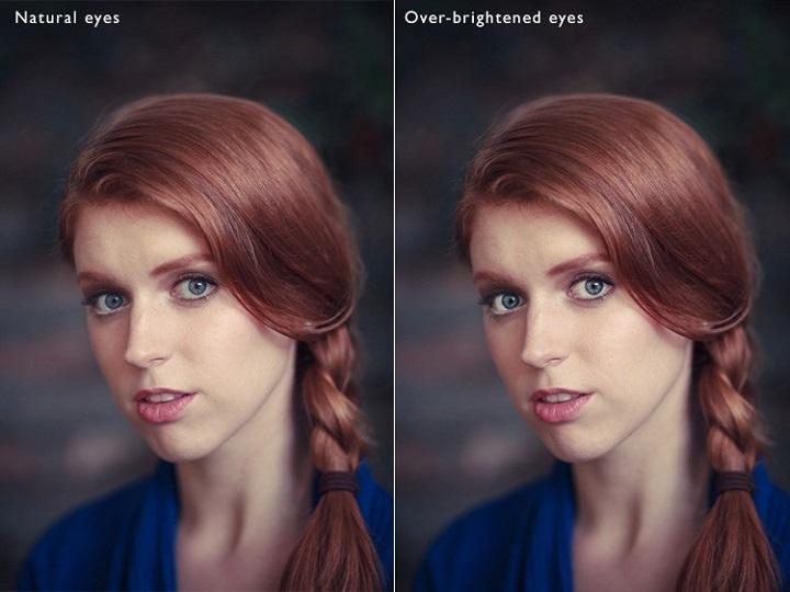 Retocar los ojos en photoshop