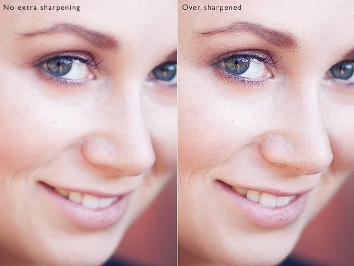 fotografia del rostro de una chica