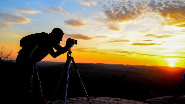 fotografia en tripode