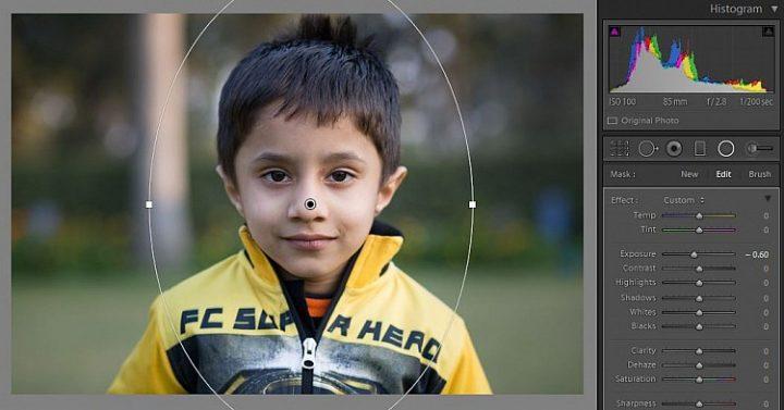 fotografia de niño