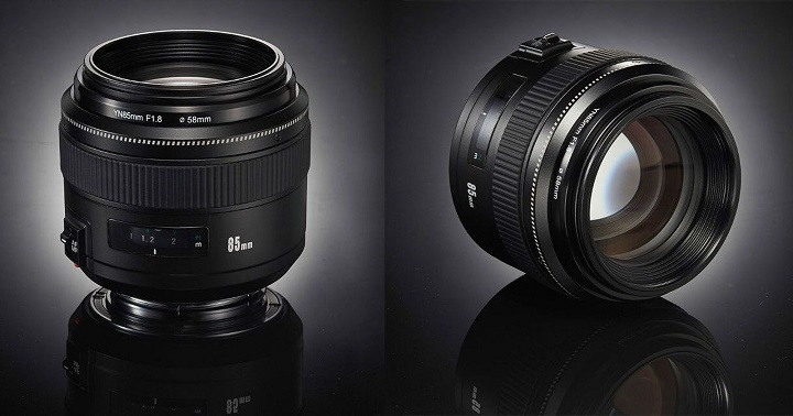 lente 85mm