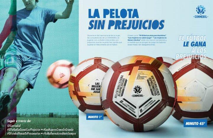 campaña Un balón sin prejuicios