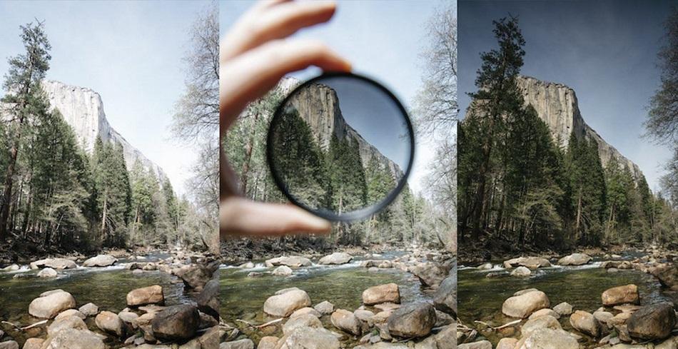 filtro de densidad neutra