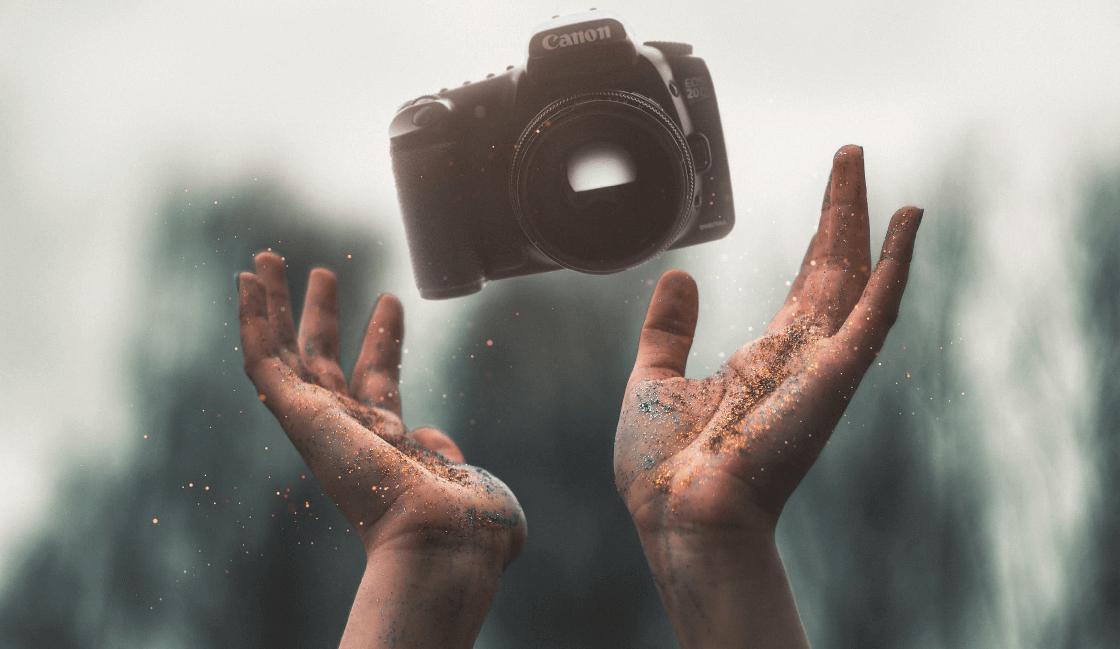 ser persistente para entrar al mundo de la fotografia