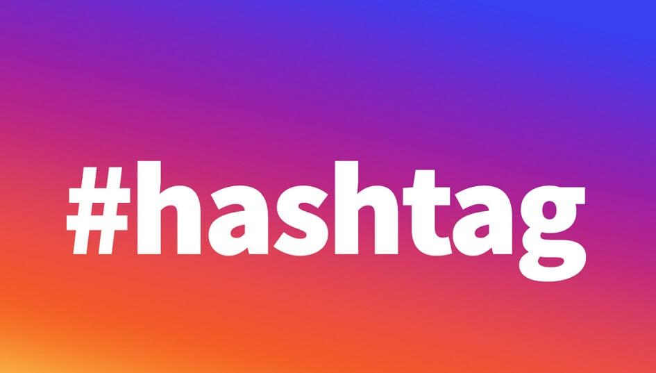 usa hashtag en tu perfil de Instagram para empresas