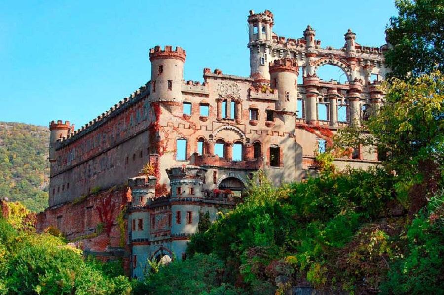 Castillo Bannerman fotografías de lugares abandonados