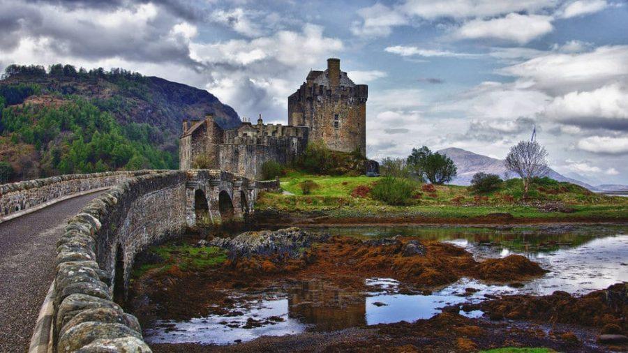Castillo Eilean Donan fotografías de lugares abandonados