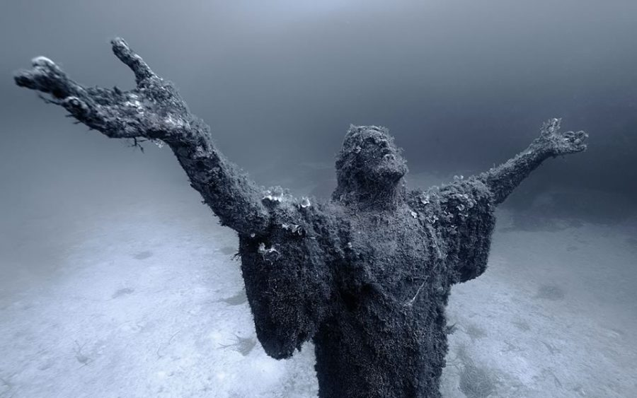 Cristo del Abismo fotografías de lugares abandonados