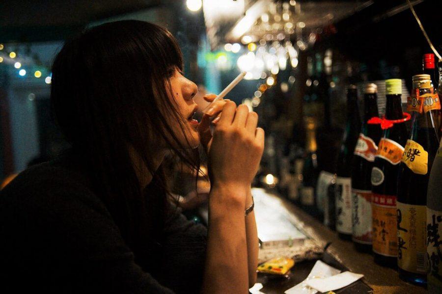 curiosidades de la cultura japonesa Solo se puede fumar en zona para fumadores