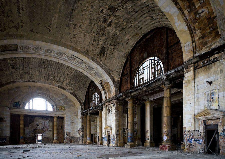 Estación Central de Michigan en Detroit
