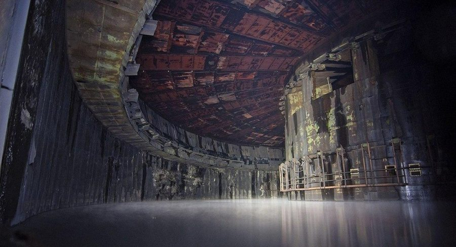 fotografías de lugares abandonados fábrica rusa de cohetes