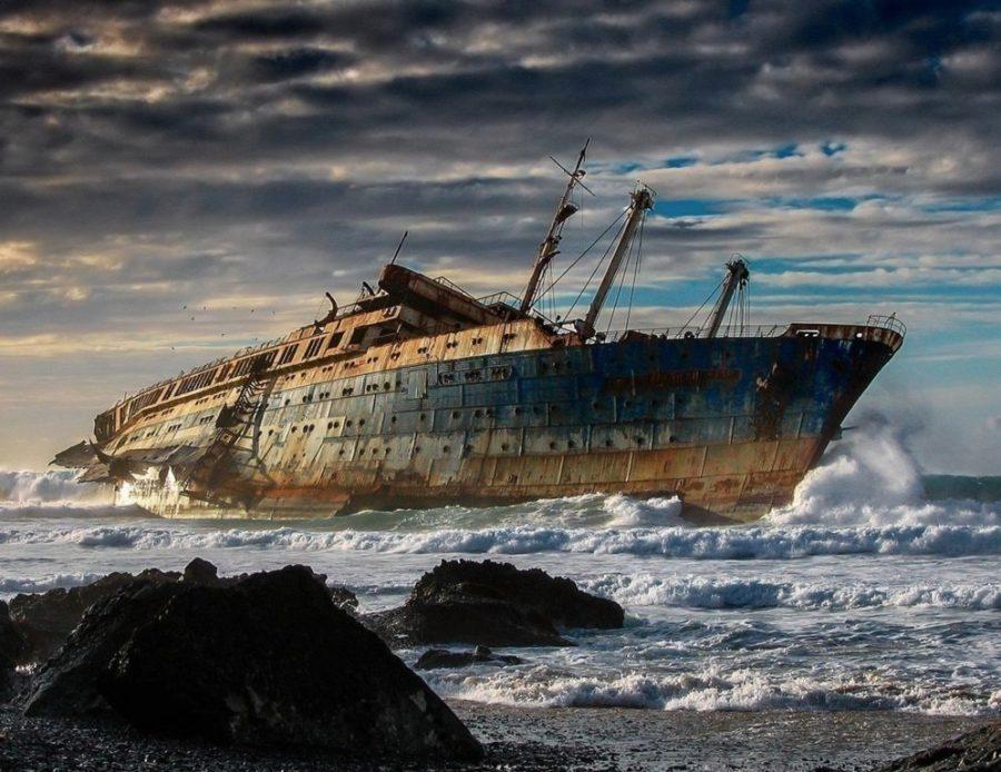 fotografías de lugares abandonados Naufragio del SS América Fuerteventura