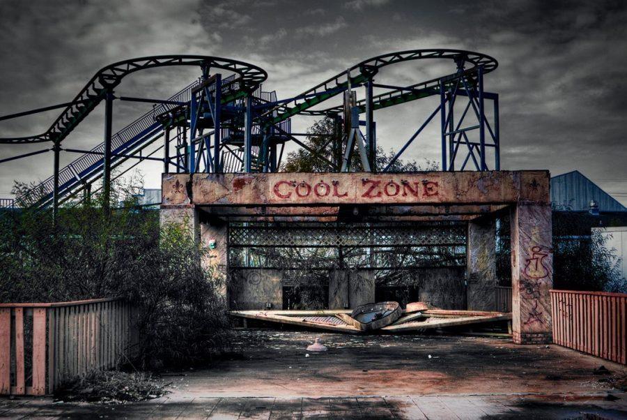 Parque Six Flags fotografías de lugares abandonados