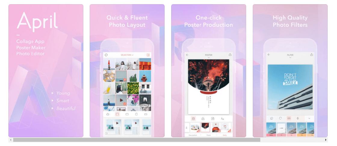 april programa para hacer collage de fotos gratis