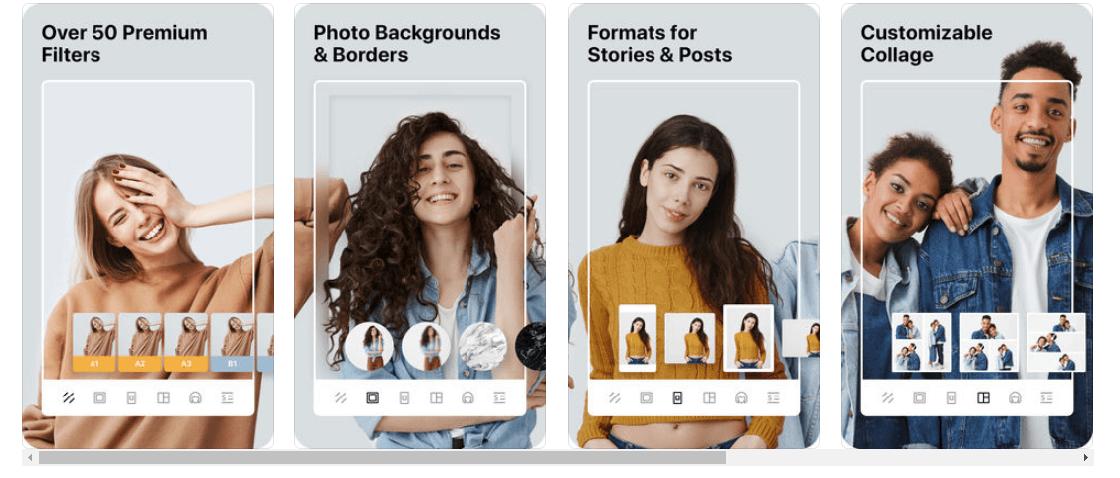 instasize programa para hacer collage de fotos gratis