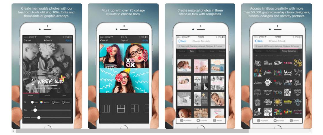 photofy programa para hacer collage de fotos gratis