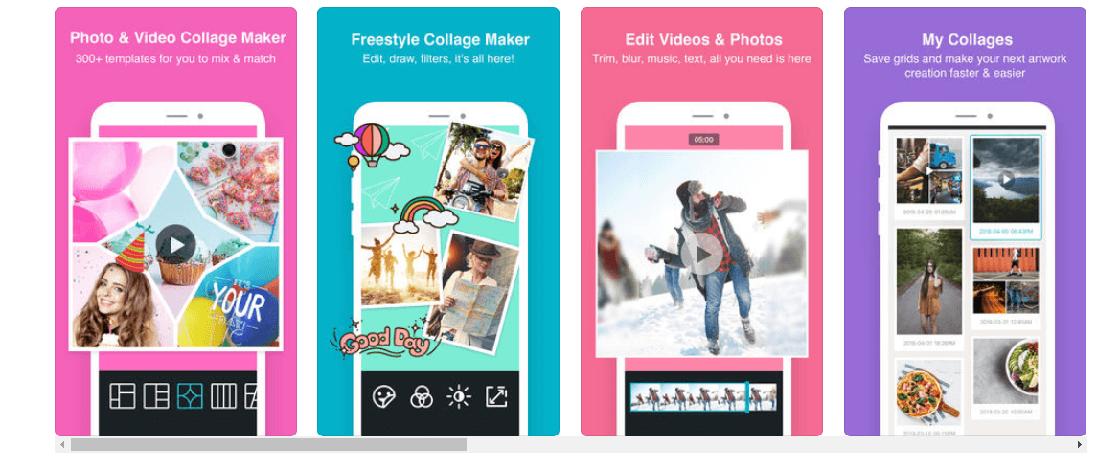 photogrid programa para hacer collage de fotos gratis
