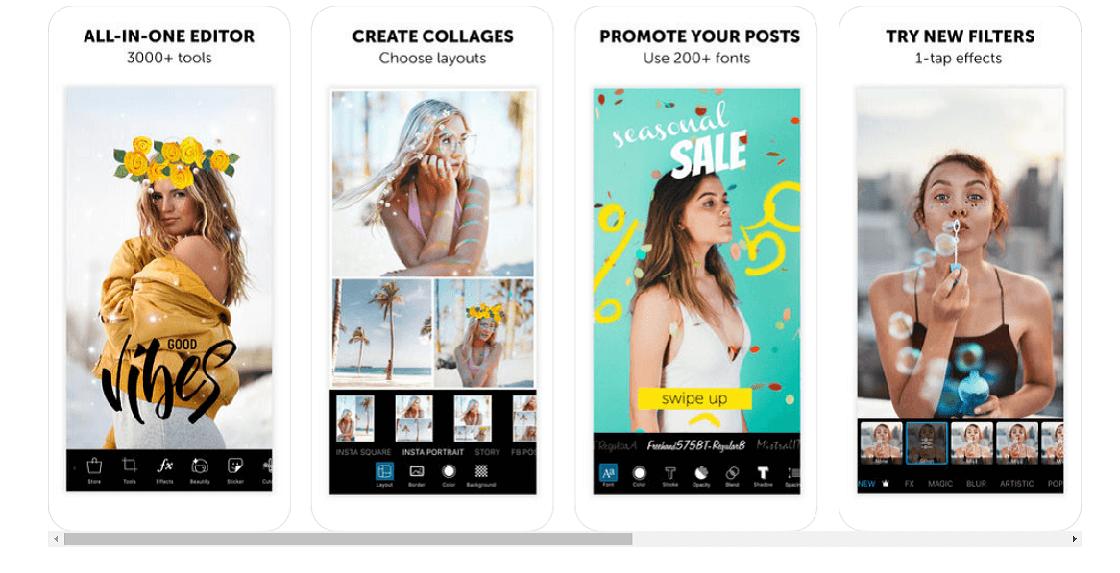 picsart programa para hacer collage de fotos gratis