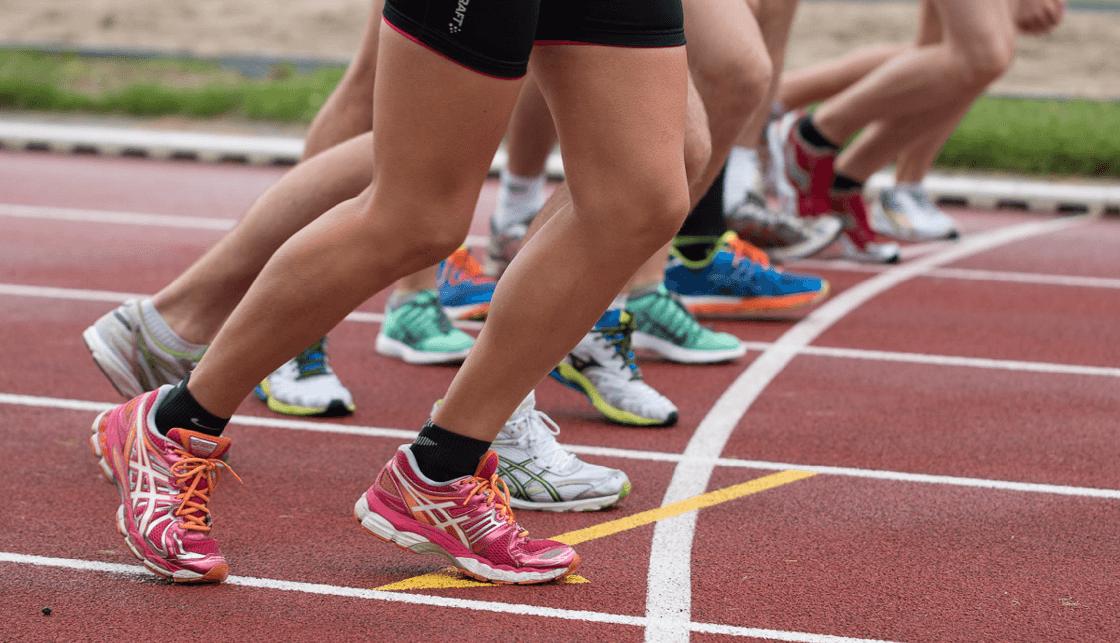 fotos de los eventos deportivos con un enfoque automático