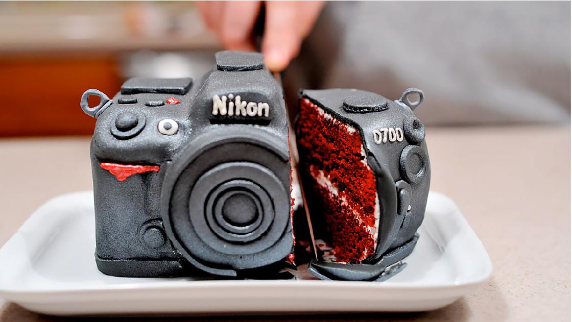 torta de cumpleaños mejores regalos para fotógrafos
