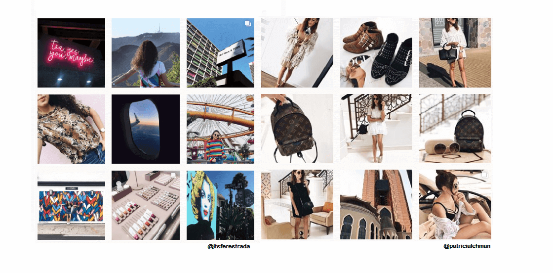 publica varias fotos para un feed de Instagram perfecto