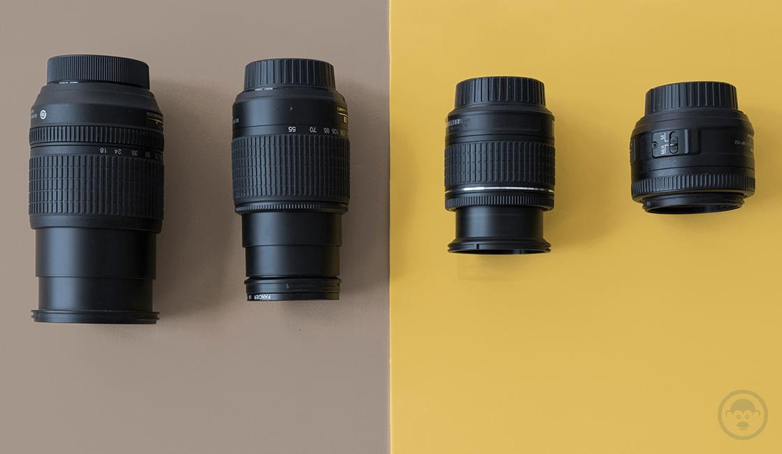 Buscar información de los lentes y cámaras de segunda mano con 2 a 3 años de antigüedad