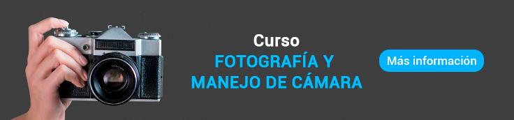 curso de fotografia y manejo de camara