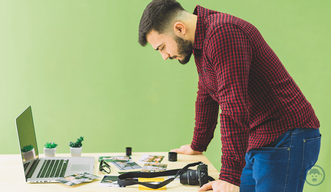 Se constante en la búsqueda de empleo en la bolsa de trabajo para fotógrafos