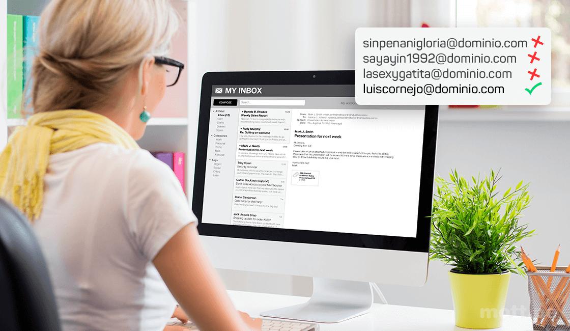 correo curriculum vitae para marketing digital