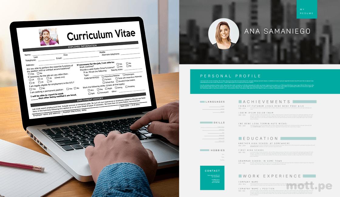 formato de curriculum de marketing digital