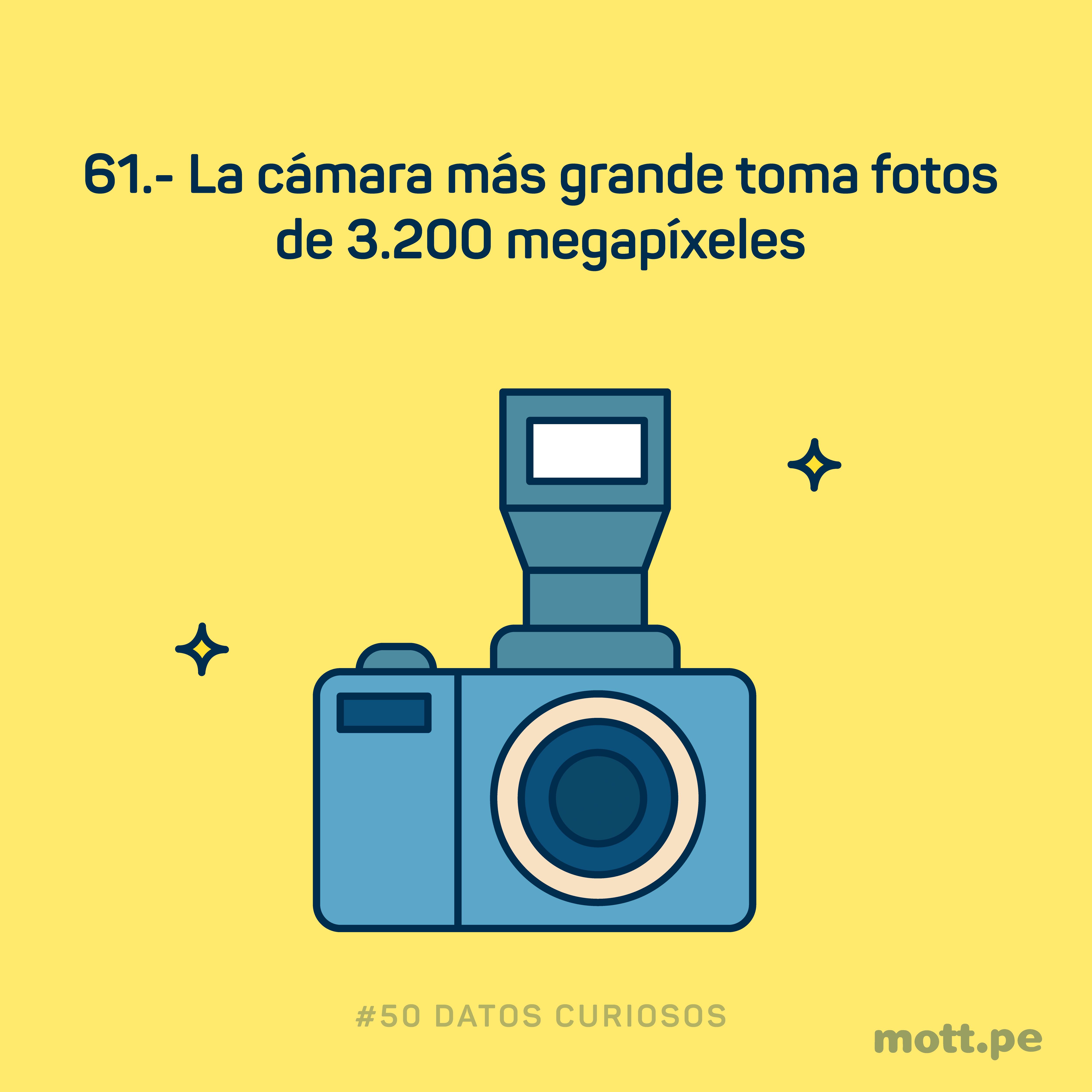 la cámara más grande del mundo